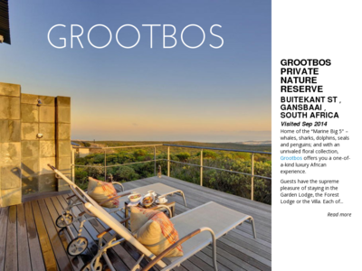 Grootbos private nature reserve buitekant st gansbaai south africa 66203 1412006296