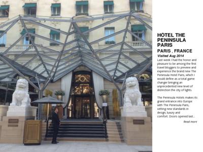 Hotel the peninsula paris paris france 61528 1408029961